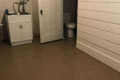 Basement Half Bath